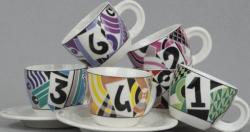 Sada šálků na cappuccino 6 ks